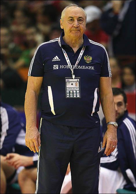 Бессменный наставник мужской сборной Владимир Максимов ушёл в отставку