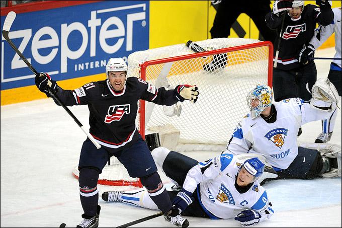 13 мая 2012 года. Хельсинки. Чемпионат мира. Групповой турнир. Финляндия — США — 0:5