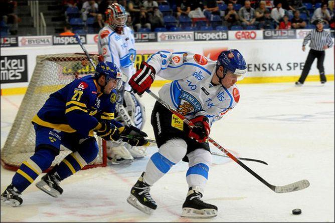 23 апреля 2011 года. Брно. Еврохоккейтур. Чешские игры. Швеция — Финляндия — 0:2