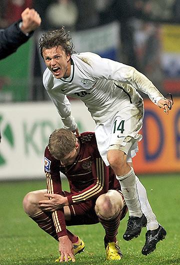 18.11.2009. Словения — Россия — 1:0