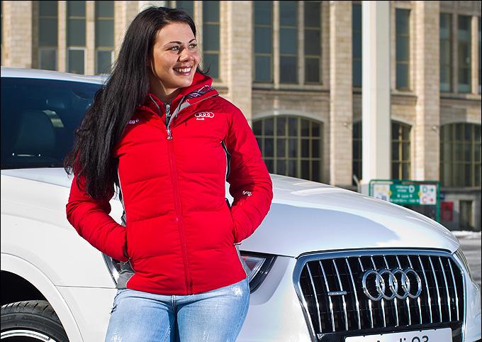 Сноубордистка Екатерина Илюхина – посол марки Audi