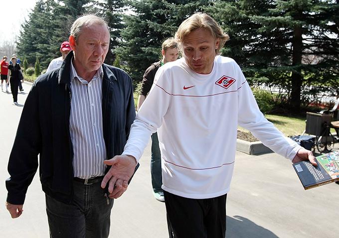 Олег Романцев и Валерий Карпин