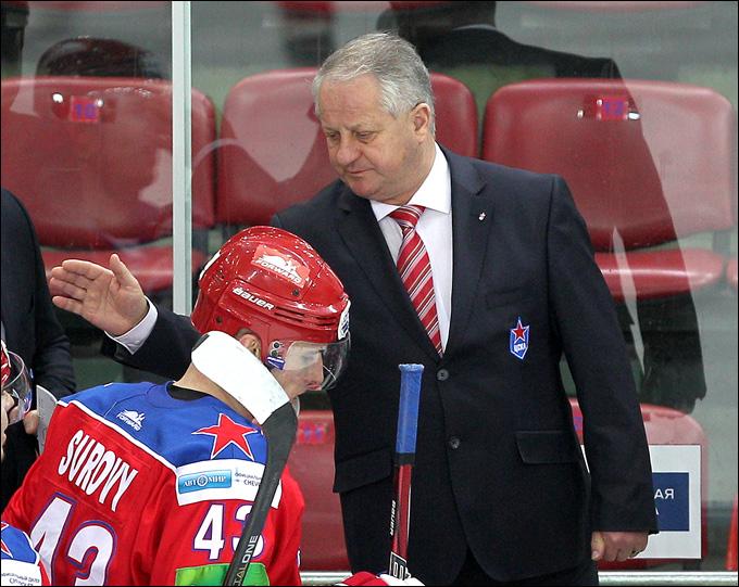 Главный тренер ЦСКА Юлиус Шуплер