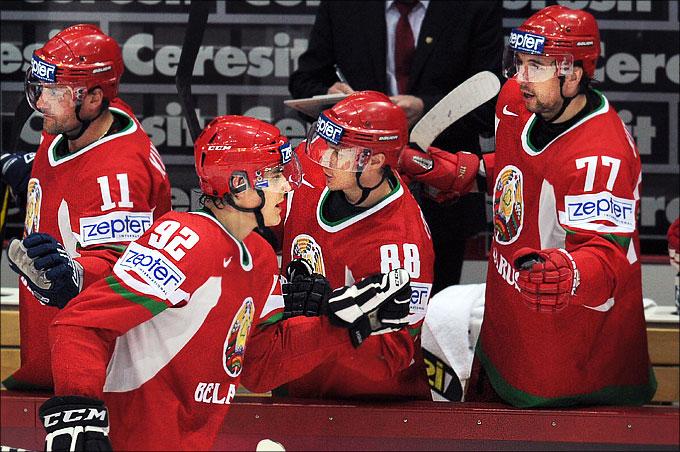 8 мая 2012 года. Хельсинки. Чемпионат мира. Групповой турнир. Белоруссия — Казахстан — 3:2