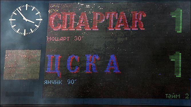 """Упущенная победа """"Спартака"""""""