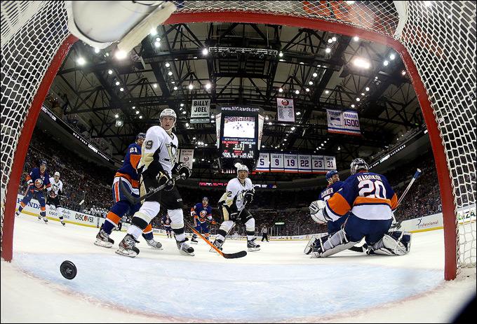 """5 мая 2013 года. Нью-Йорк. Плей-офф НХЛ. 1/8 финала. Матч № 3. """"Айлендерс"""" — """"Питтсбург"""" — 4:5 (ОТ)."""