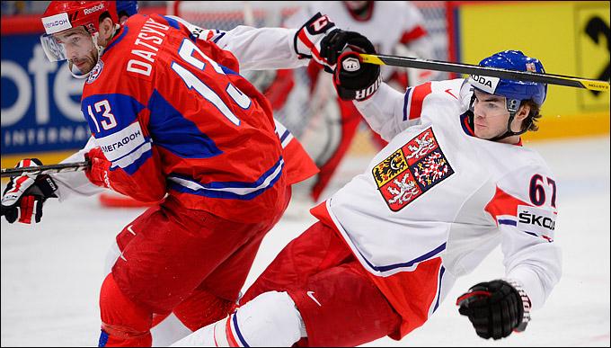 Михал Фролик против сборной России