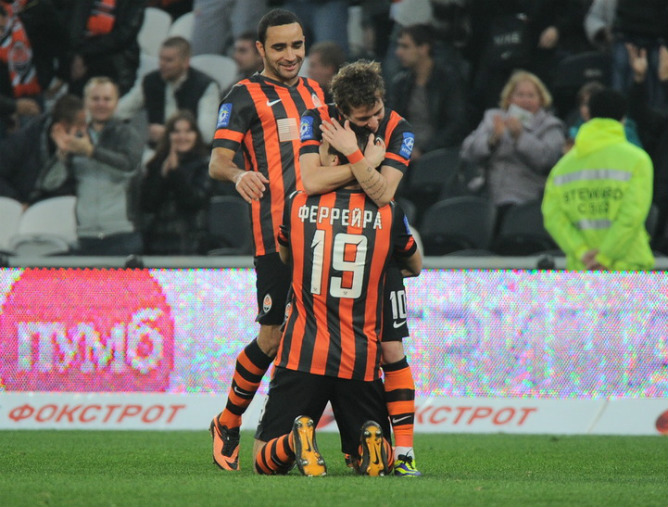Феррейра оформил дубль, Бернард признан игроком матча