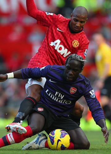 """""""Манчестер Юнайтед"""" — """"Арсенал"""". В первом круге сильнее были подопечные Алекса Фергюсона — 2:1"""