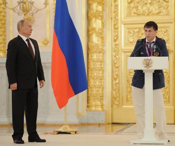Олимпийский чемпион по борьбе Роман Власов