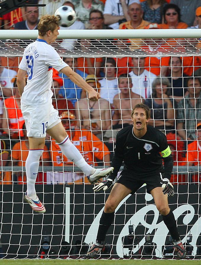 Роман Павлюченко на чемпионате Европе-2008