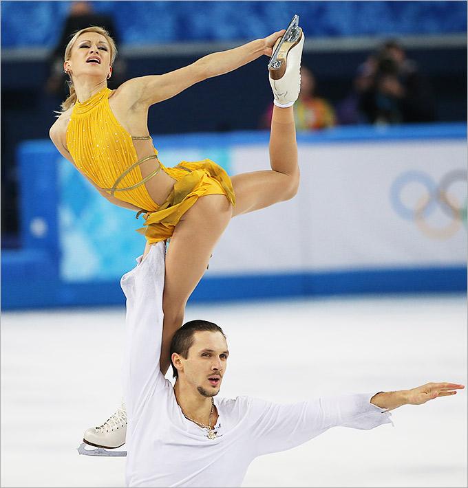 Блестящая победа в фигурном катании Татьяны Волосожар и Максима Транькова