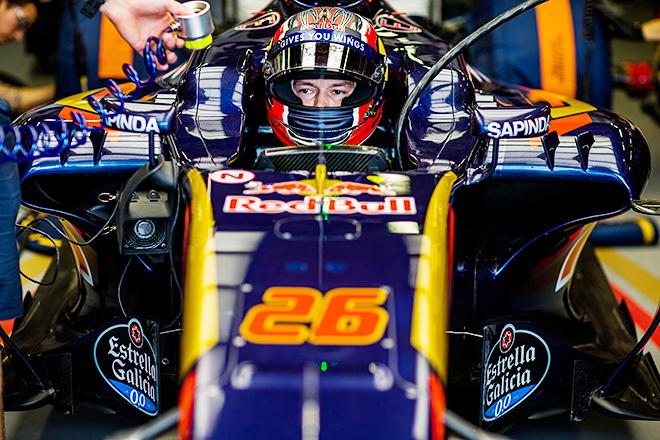 Даниил Квят на Гран-при Европы-2016 в Баку