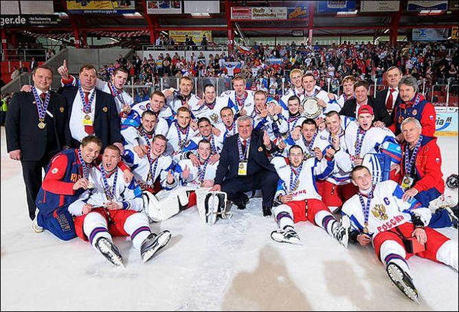 24 апреля 2011 года. Криммитшау. Чемпионат мира U-18. Матч за 3-е место. Канада — Россия — 4:6