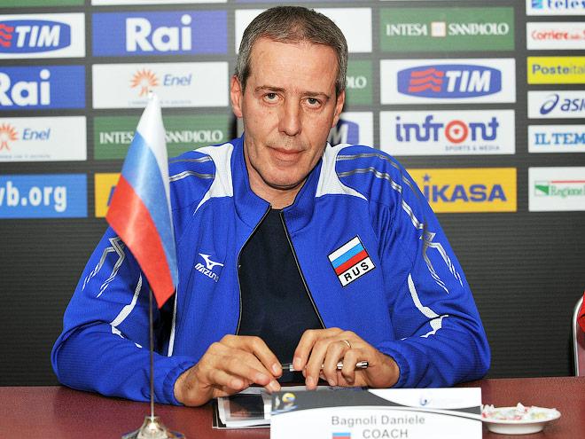 К чемпионату мира 2010 года сборная России готовилась под руководством Даниэле Баньоли