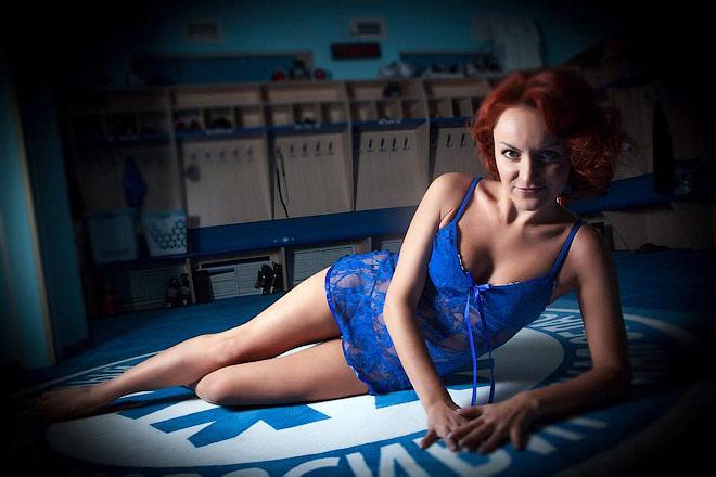 Фотосессия пресс-атташе «Сибири» Марии Левинской прервалась поражением от «Йокерита»