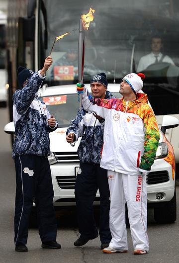 За первые двое суток эстафеты по Москве Олимпийский огонь гас 4 раза