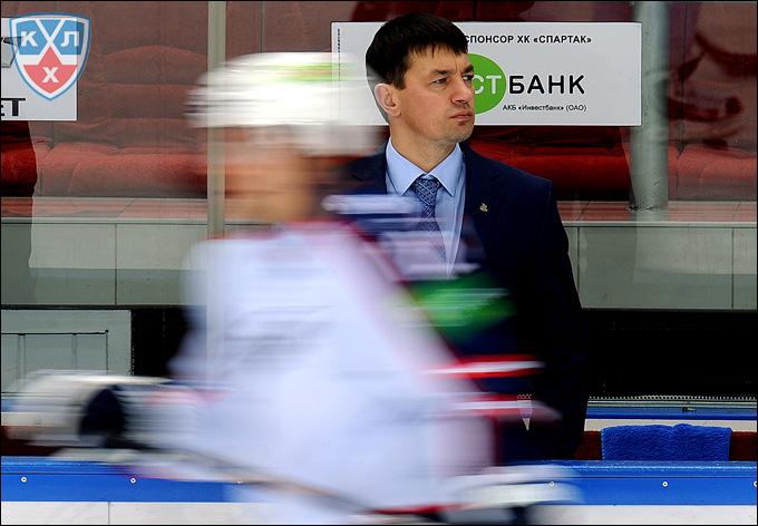 Андрей Тарасенко: В современном хоккее топтание на месте означает шаг назад.