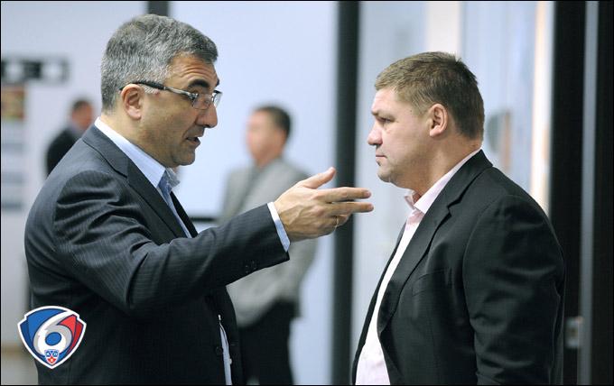Леонид Вайсфельд и Андрей Коваленко