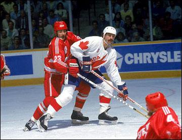 Кубок Канады-1987. Канада — СССР. Андрей Ломакин