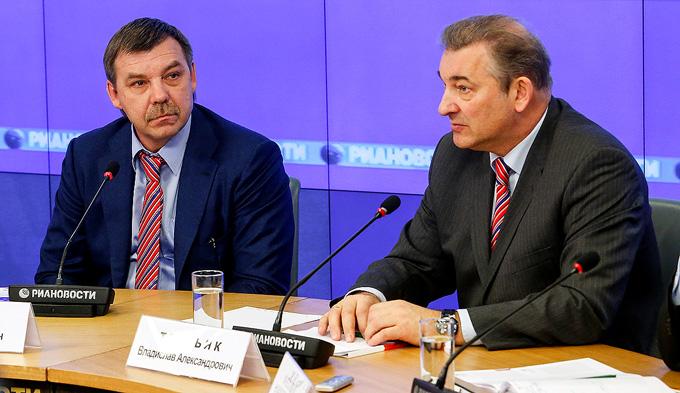 Олег Знарок и Владислав Третьяк