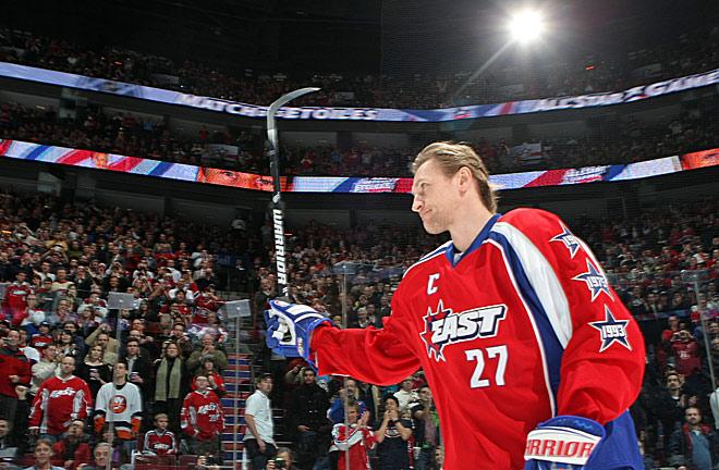 Алексей Ковалёв на Матче звёзд НХЛ
