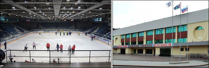 Хорошая арена в Тюмени, уютная, домашняя. Только маленькая очень…