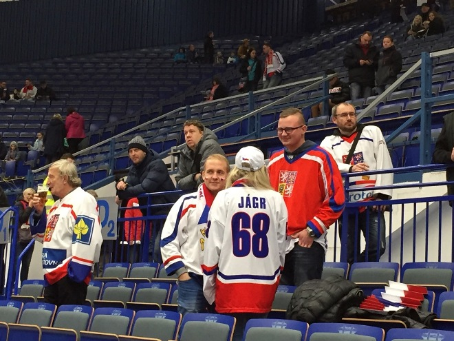 Чешские болельщики