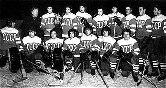 Олимпийские игры-1956. Решающий матч. СССР — Канада – 2:0