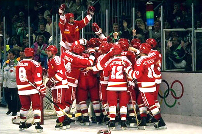 Олимпийские игры-1992. Финал. СНГ – Канада – 3:1