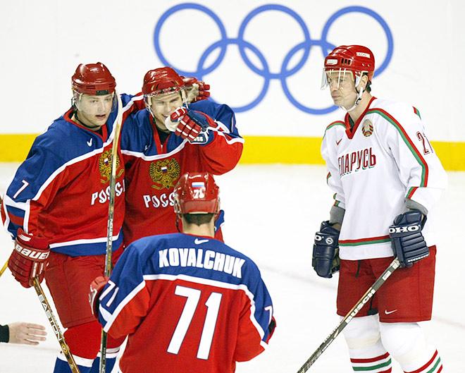 ОИ-2002. Россия – Белоруссия – 7:2