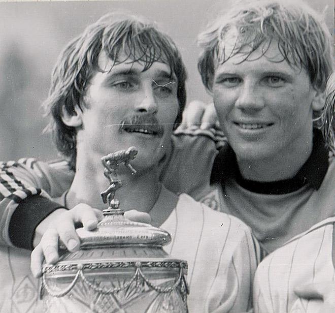 В 1984 году Алексей Прудников выиграл Кубок СССР в составе московского «Динамо»