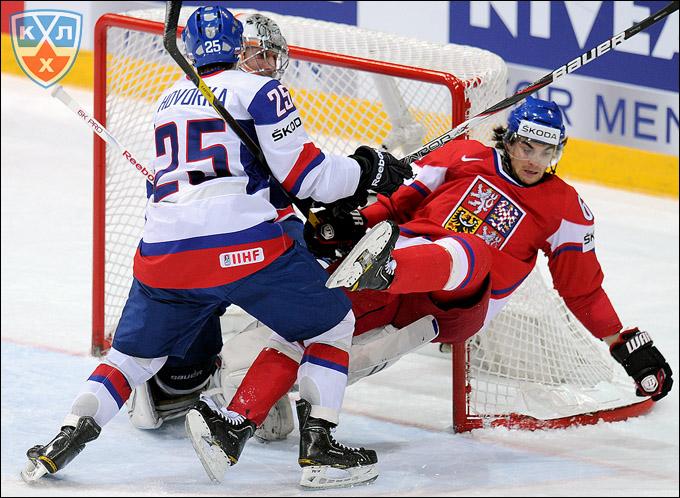 Михал Фролик против сборной Словакии
