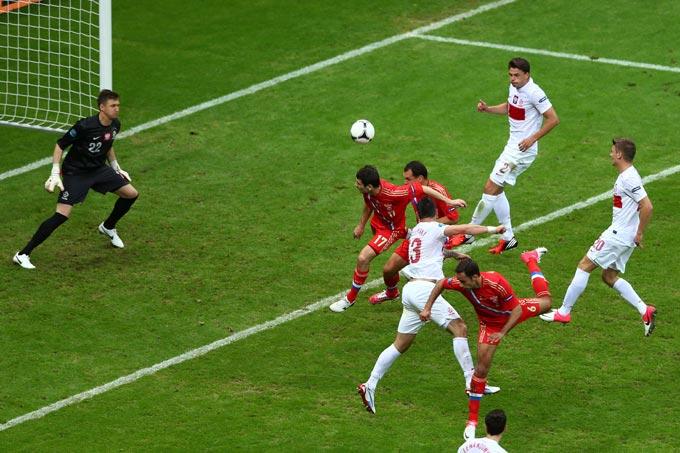 Алан Дзагоев открывает счёт в матче