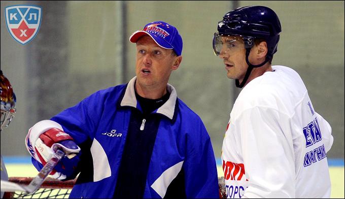 Андрей Соколов (слева) и Сергей Фёдоров