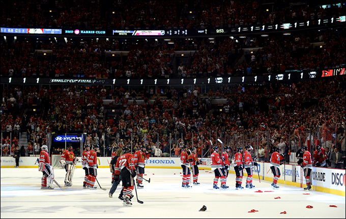 """Из всех команд современной НХЛ ближе всех подошли к определению """"династия"""" """"Чикаго Блэкхоукс"""""""