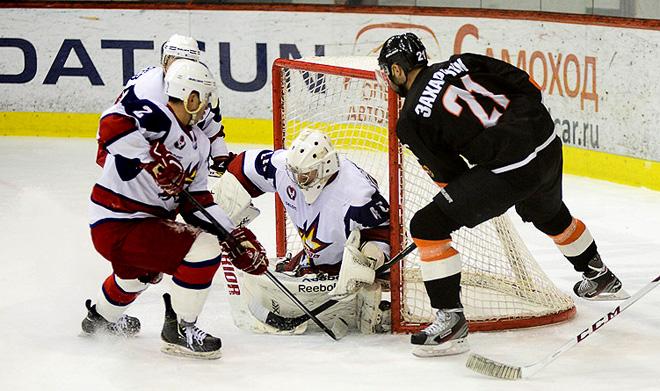 Игорь Устинский в матче с «Молотом» сохранил свои ворота в неприкосновенности и стал лучшим вратарём недели ВХЛ.