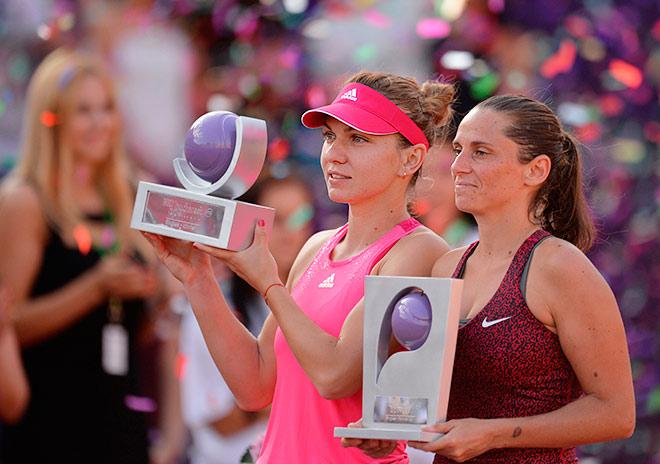 Халеп победила в Бухаресте