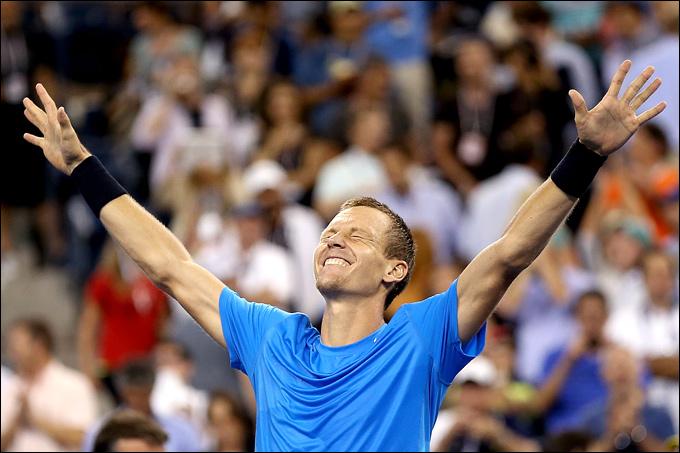 4. Четвертьфинал. Роджер Федерер (Швейцария, 1) — Томаш Бердых (Чехия, 6) — 6:7 (1:7), 4:6, 6:3, 3:6.