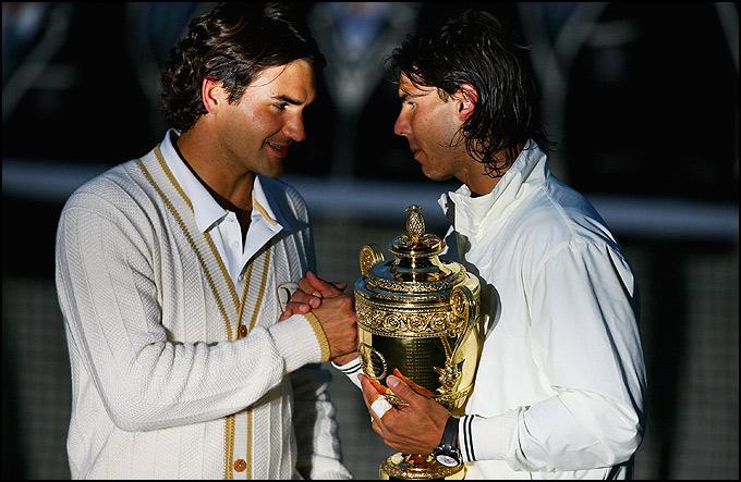 Рафаэль Надаль обыграл Роджера Федерера в, пожалуй, лучшем финале Уимблдона