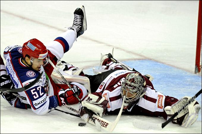 20 апреля 2012 года. Рига. Еврочеллендж. Латвия — Россия — 1:2