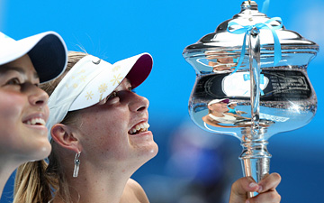 Australian Open — 2008. Мария Шарапова — Ана Иванович — 7:5, 6:3