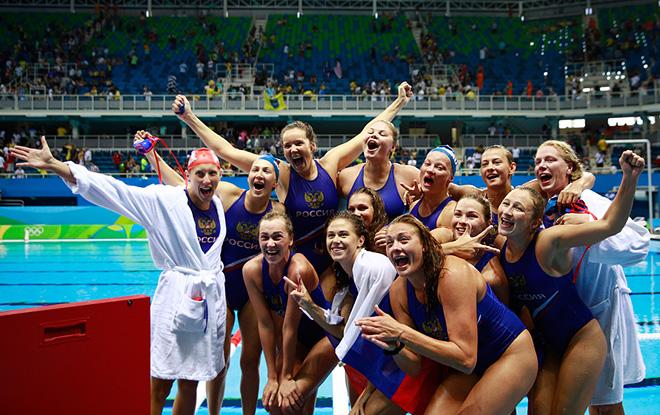 Российские ватерполистки в драматичном матче за третье место одолели Венгрию