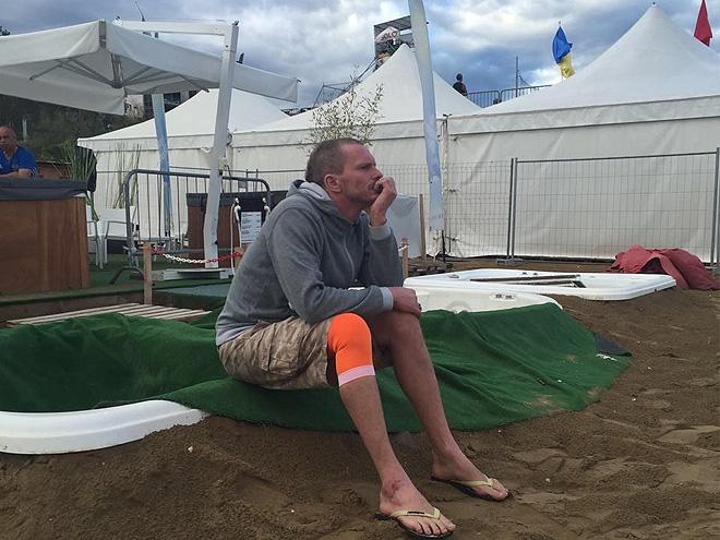 Андрей Бухлицкий играть ещё не может, но помогать сборной готов
