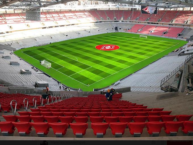 Спартаковский стадион готов к атаке и обороне!
