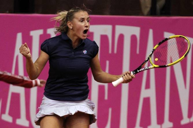 Леся Цуренко подарила сборной Украины надежду на выход в финал