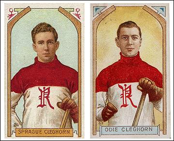 Спраг и Оди Клегхорны на карточках начала XX века