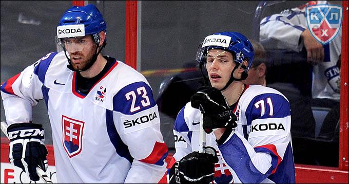 Юрай Микуш (справа)