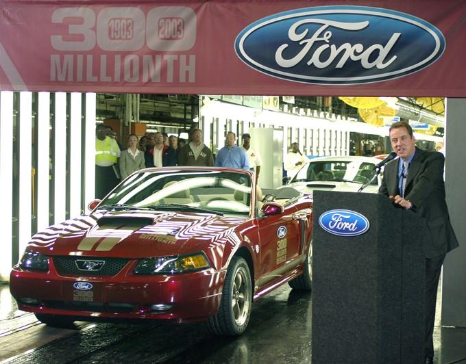 """Ford Mustang GT стал трехсотмиллионным автомобилем, произведённым """"Фордом"""""""