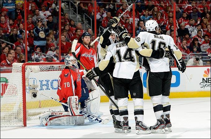 """3 февраля 2013 года. Вашингтон. Регулярный чемпионат НХЛ. """"Вашингтон Кэпиталз"""" — """"Питтсбург Пингвинз"""" — 3:6"""
